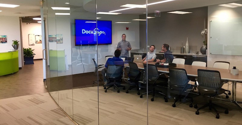 docusign meeting room