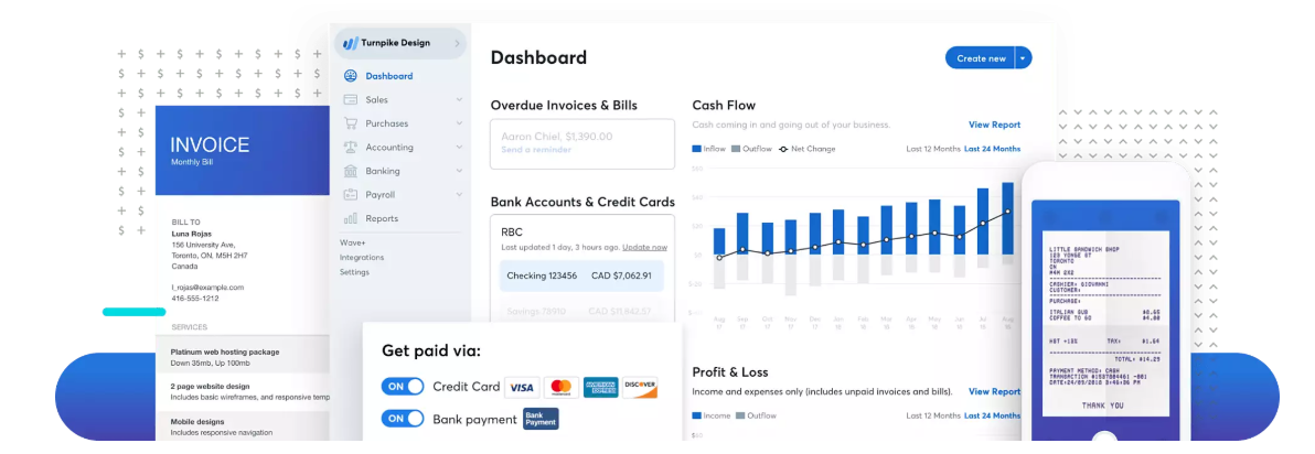wave accounting saas tool